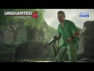 ТВ-ролик Uncharted 4 о бонусах предзаказа.