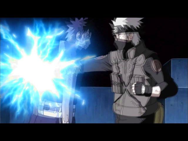 Kakashi vs Obito AMV - Falling Inside the Black