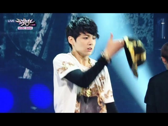 BTS - We Are Bulletproof Pt. 2 No More Dream (2013.06.29) [Music Bank w/ Eng Lyrics]
