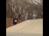 When You are too bored to heelflip out, but still find a way.