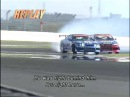 Kawabata vs Saito D1 crash
