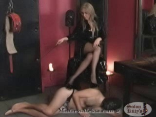 BDSM fetish mistress Aleksa