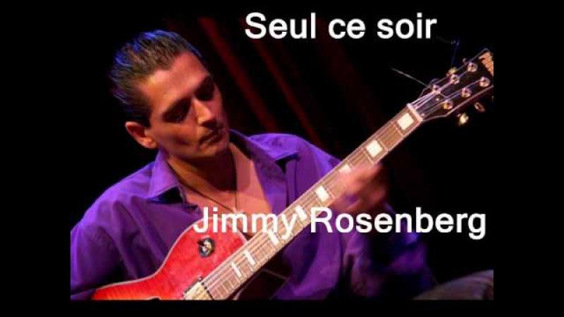Another Gypsy Genius: Seul ce soir : Jimmy Rosenberg..