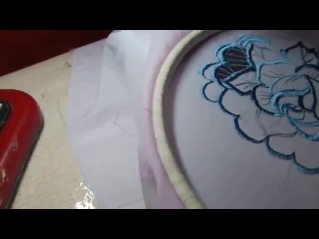 МашиннаяВышивка Как научиться вышивать на простой швейной машинке Укро 1 ришелье