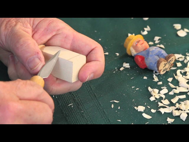 Step by Step How To Carve a Little Person Step 6