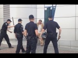 Киевский бездомный пять минут не давал полиции себя задержать