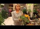 Уроки флористики. Анастасия Егорова - Летний букет на каркасе из ротанга.