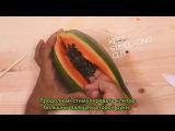 Как ласкать девушку рукой урок на примере фруктов