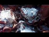 Подбитая и уничтоженная украинская техника БТР 70 на донбассе  ВСУ украины 2015