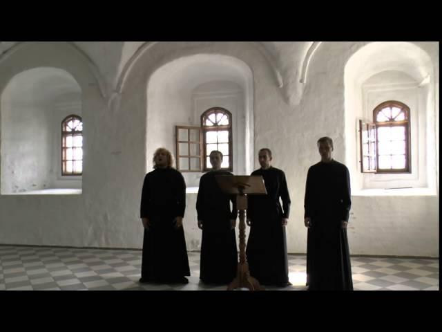 Христос Воскресе - Византийский распев