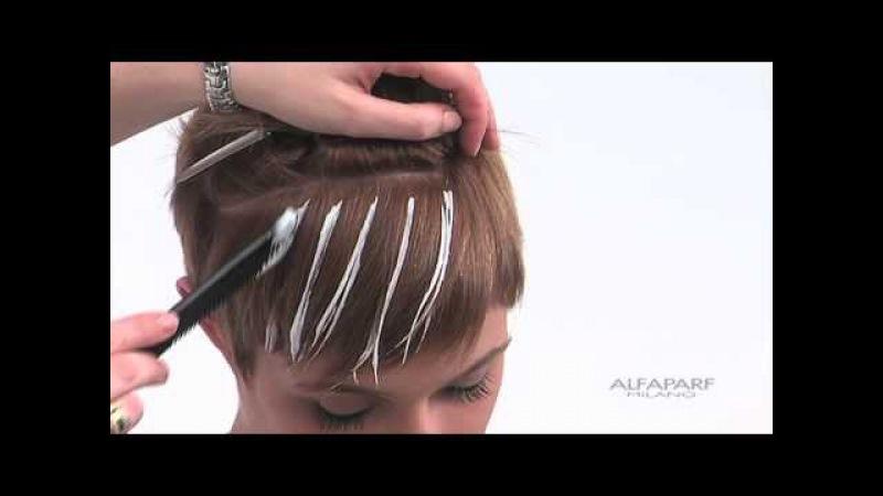Alfaparf Milano USA - Supermeches Bleaching Technique 5: Sunray