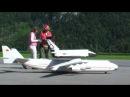 Antonov An-225 Mriya Lightweight RC Scale Model Airplane launching a Buran Space Shuttle