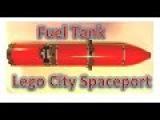 We collect the fuel tank of the space shuttle Lego 60080 Собираем топливный бак Лего Сити Космодром