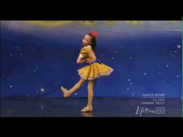 Maddie Ziegler - Acapella - Tap Solo - Dance Moms S01 E04