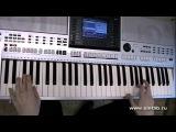 Рома Жуков - Первый снег игра на синтезаторе