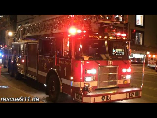 High-rise fire - Chicago fire department [Ride along]