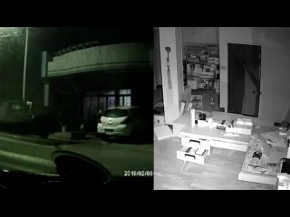 RAW: Moment when 6.4 Earthquake hits Taiwan
