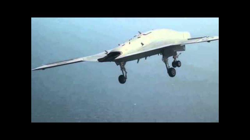 Многоцелевой боевой беспилотный летательный аппарат X-47A Pegasus