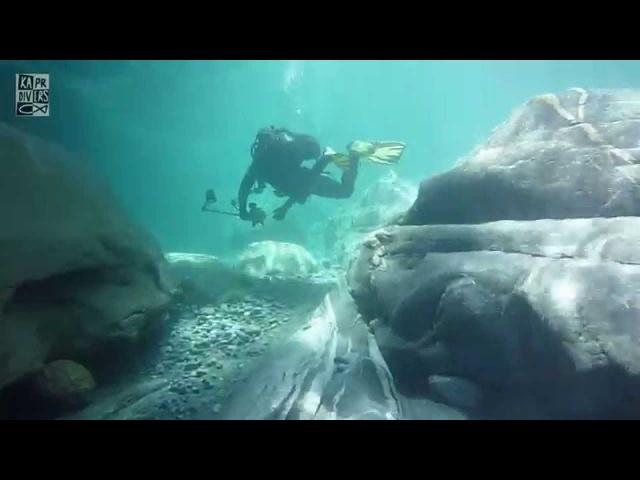 Verzasca - river diving with Kapr Divers, 2011