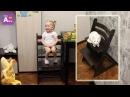 Мисс Алиса тестирует растущий стульчик Kid Fix! Класс!!