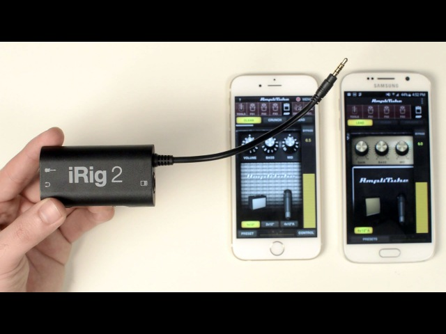IRig 2 - guitar interface for iPhone, Android and Mac