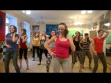 Bachata Ladies Style in Salsa club Kiev(Ksenia Petrenko)