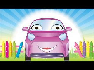 ✔ Araba cizgi filmleri. Yarış arabası. Eğitici çizgi film. Türkçe İzle. Tiki Taki çizgi filmleri ✔