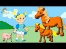 Развивающие мультики для детей - Как говорят животные