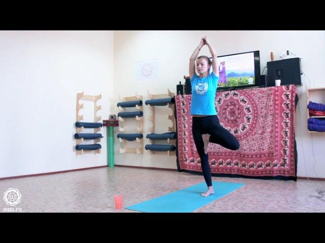 Комплекс по йоге. Балансовые асаны (oum.ru Лера Ильина)