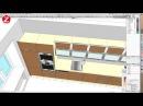 Дизайн узкой кухни своими руками