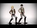 [MMD] Annie Teaches Eren How to Dance