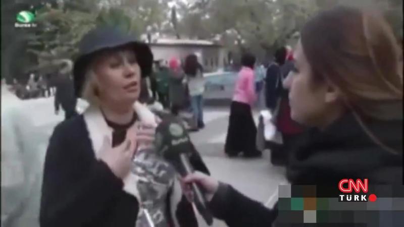 Bursa'da Henüz Ne Dediği Anlaşılamayan Kadın