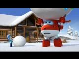 Супер-Крылья Джетт и его друзья. 42. Снежный день