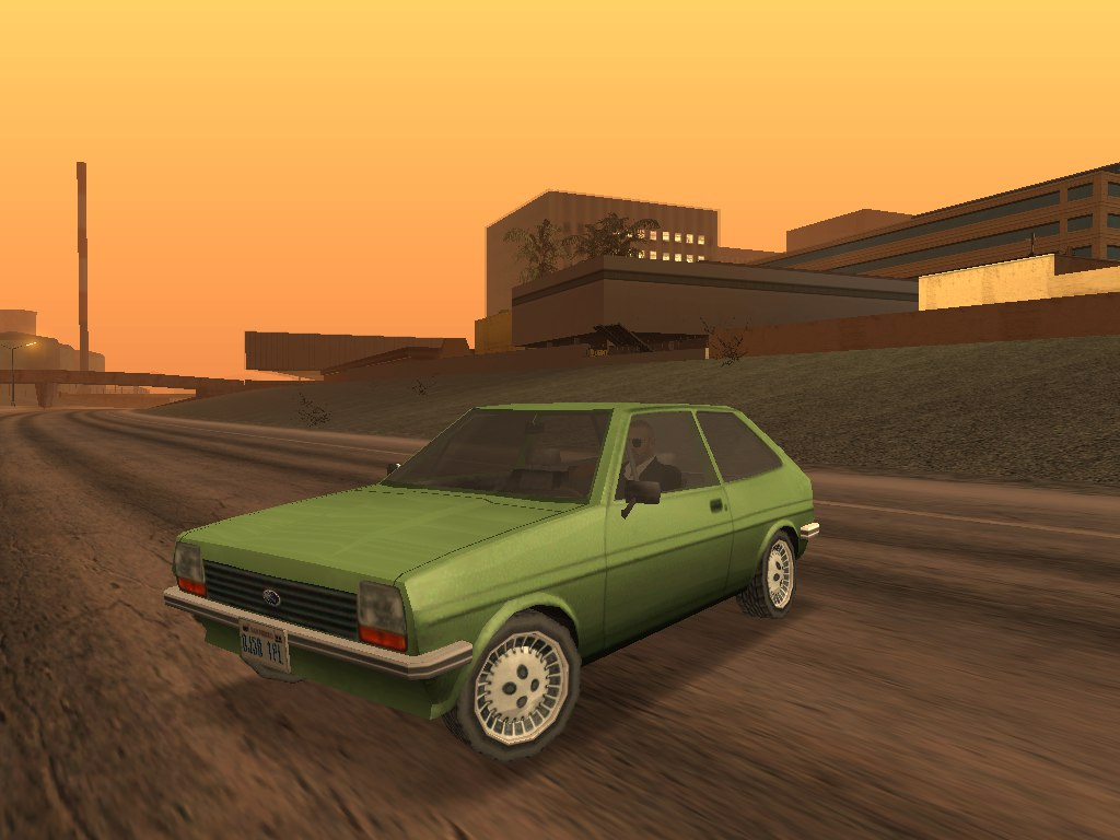 Моддинг Grand Theft Auto:San Andreas - Ford Fiesta Mk.I