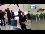 Владимир Путин приехал поздравить телеканал Russia Today