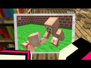 Minecraft Love Story - Диллерон и Миникотик (Minecraft Мультики)(-119389363)