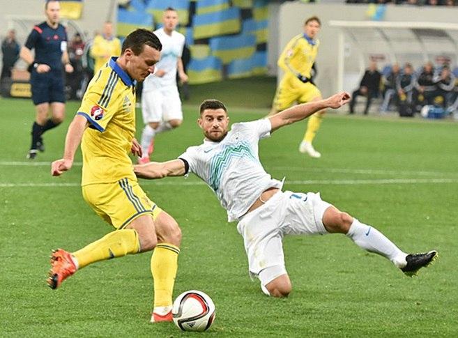 Сборная Украины по футболу, сборная Словении по футболу, квалификация Евро-2020, тактика