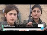 aux côtés des combattants kurdes, en première ligne contre l'EI - France 24