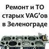 OldVAG, VR6  - ТО, ремонт в Зеленограде.