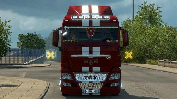 MAN TGX 18.480 V8 для Euro Truck Simulator 2 - Скриншот 1