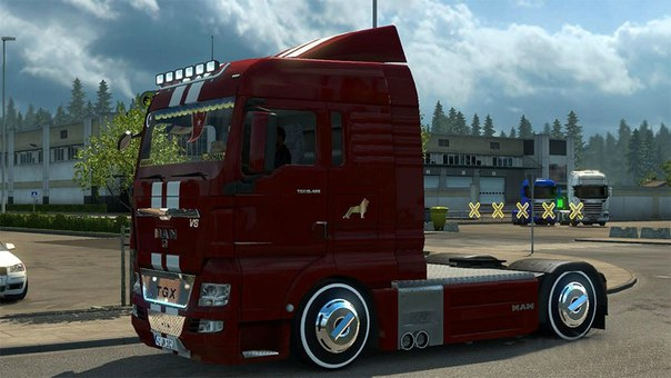 MAN TGX 18.480 V8 для Euro Truck Simulator 2 - Скриншот 2