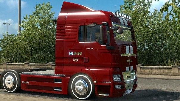 MAN TGX 18.480 V8 для Euro Truck Simulator 2 - Скриншот 3