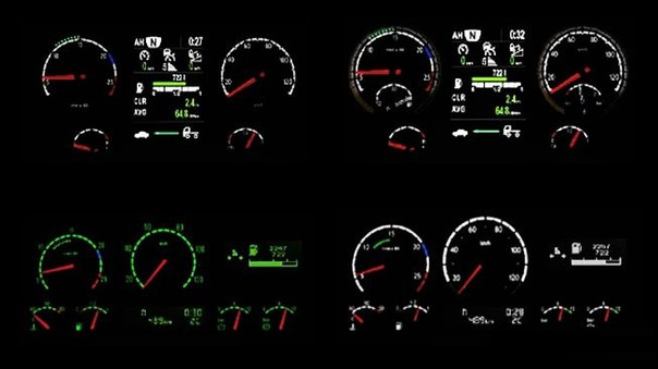 Scania R & Streamline RJL Reworked Dashboards