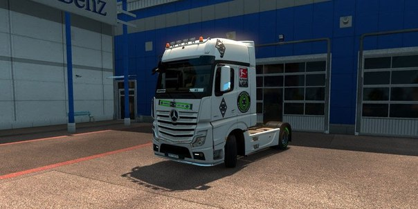 Mercedes Actros MP4 BMG Skin