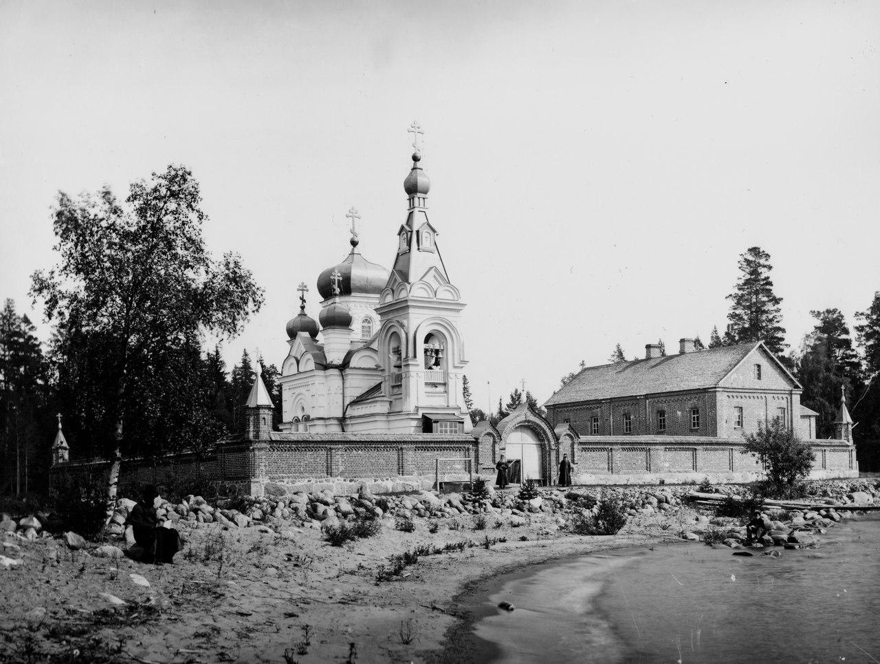 Коневский скит, фото конца 19 века