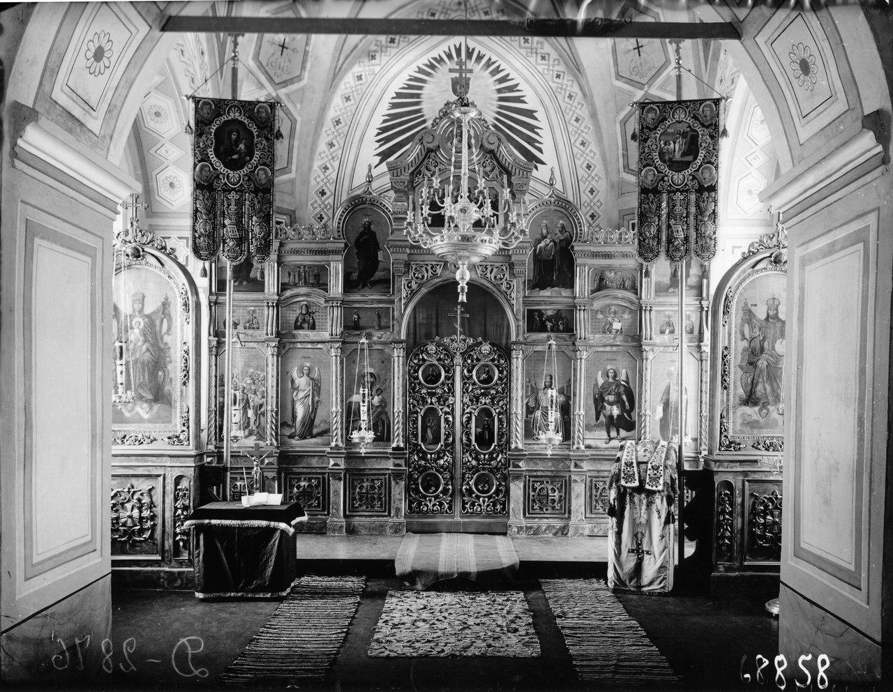 Иконостас Коневского скита. Конец 19 века