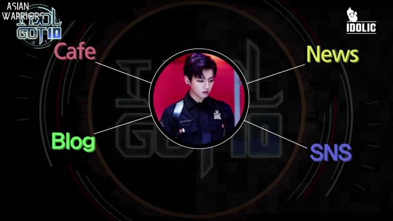 [IDOL GOT 10] Weekly Idol Ranking EP 8 (рус.суб.) [FSG Asian Warriors]