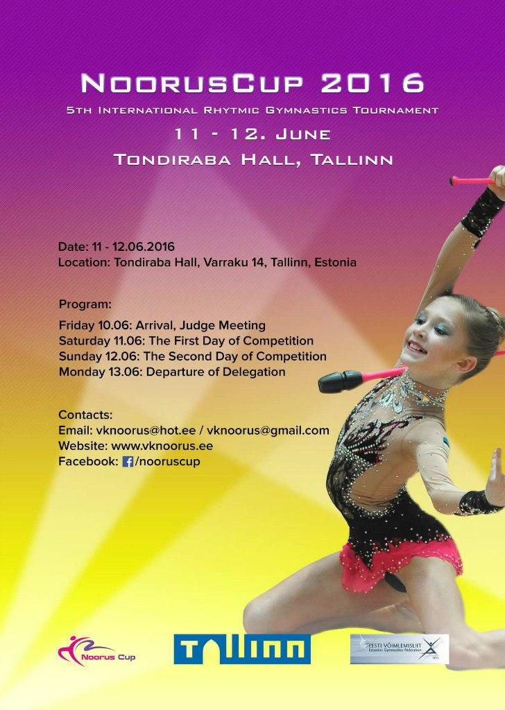 Noorus Cup 2016, 10-13.06.2016, Tallinn, Estonia