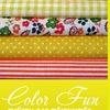 Color Fun ткань для рукоделия, пэчворк