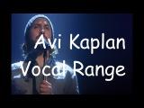 Avi Kaplan - Vocal Range (E1-C